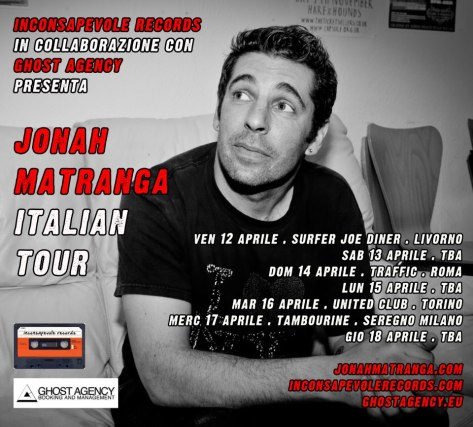 jonah matranga tour