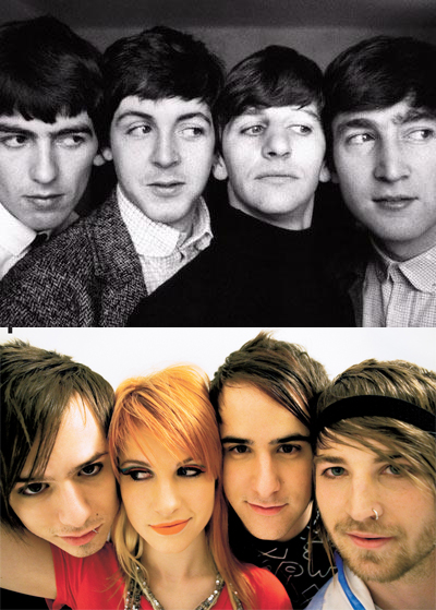 the beatles paramore