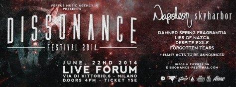 dissonance festival 2014