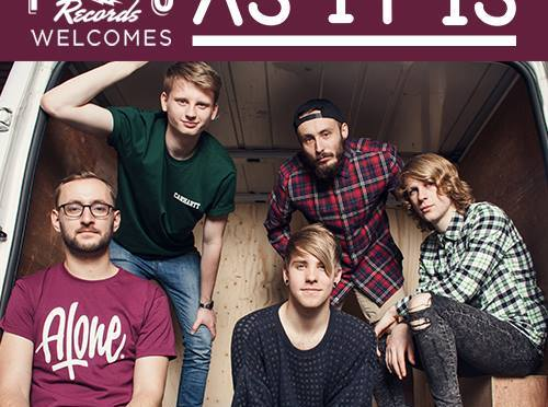 As It Is: contratto con Fearless Records!
