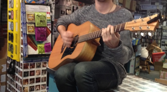 """Guarda, ho 0,00£ sulla Oyster!"" – Chris Farren + Mark McCabe @ Banquet Records, Kingston 30-11-14"