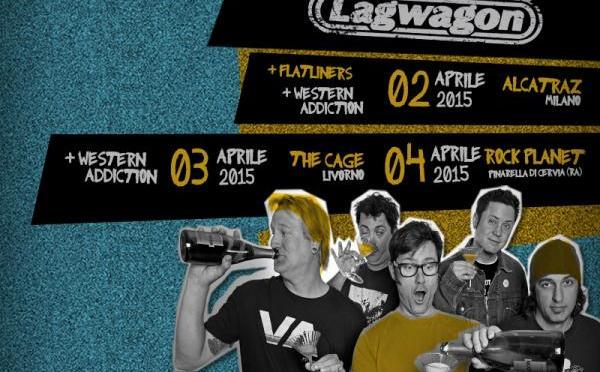"""""""Who's got a smoke for the Caper?"""" Lagwagon + Western Addiction @ The Cage Theatre – Livorno 03-04-2015"""