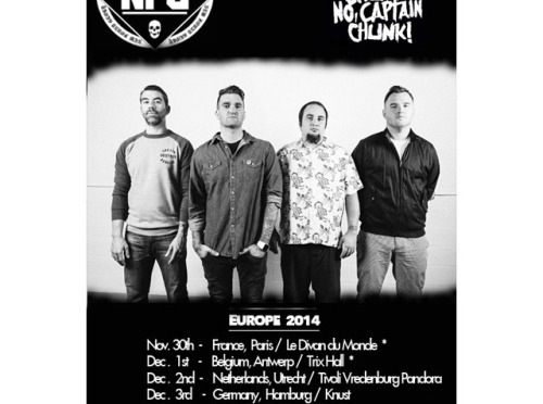 """""""Pop Punk is not Dead. At All."""" – New Found Glory  @ Tunnel Club, Milano, 06-12-14"""
