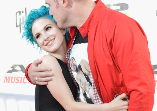 Fiori d'arancio per Hayley Williams e Chad Gilbert