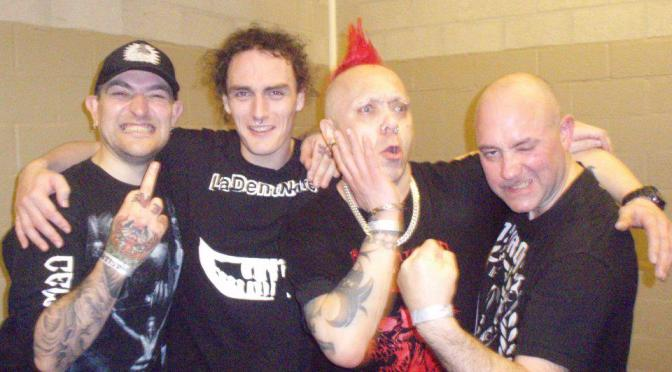 The Exploited in Italia