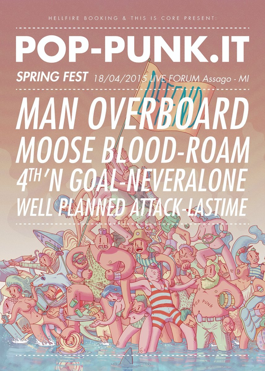 Pop Punk.IT Spring Fest - Live Forum, Milano 18-04-15
