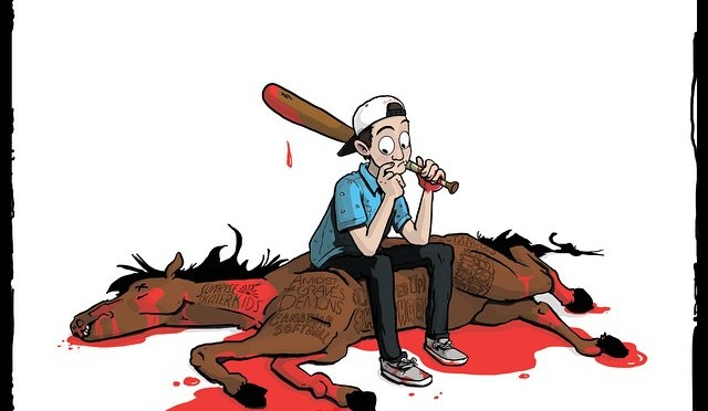 """Beating A Dead Horse"" by Jarrod Alonge"