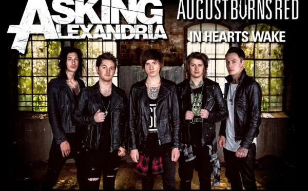 Asking Alexandria + August Burns Red + In Hearts Wake @ Fabrique, Milano 10/10/2015