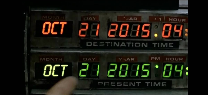 """SALUTINO A MARTY MCFLY: """"You're like McFly and I'm stuck in time"""" – 21 Ottobre 2015"""