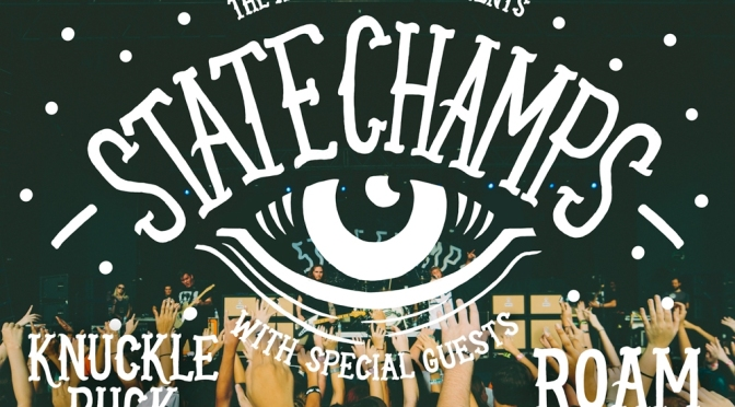 """Qualcuno ha una sdraio?"" – State Champs + Knuckle Puck + Roam 28-29/09/2015"