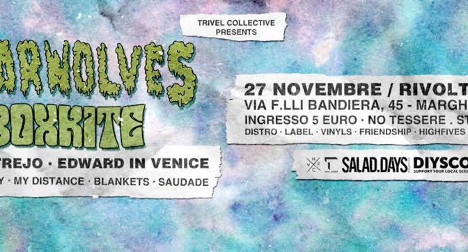Gnarwolves @ C.S.O Rivolta, Marghera 27/11/15