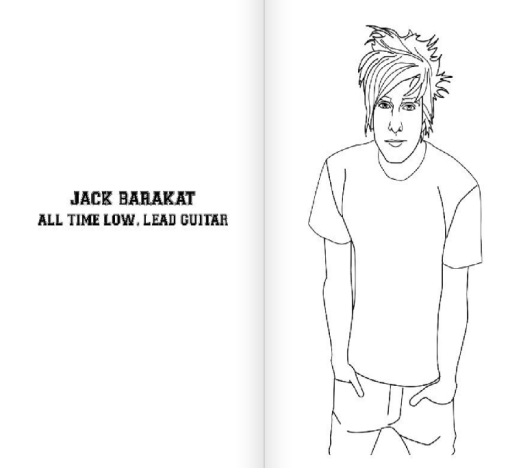 jack barakat colouring book