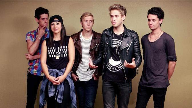 Stephen Gomez parla dei The Summer Set su 8123 Podcast