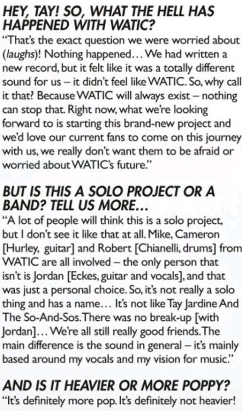 watic kerrang interview 1