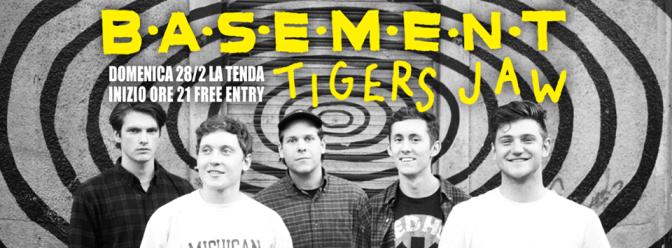 Tigers Jaw + Basement @ La Tenda, Modena, 28-02-2016