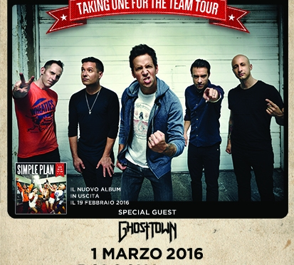 Simple Plan @Alcatraz, Milano 02-01-16