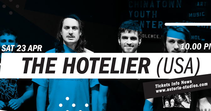 (The Hotelier +) Rozwell Kid @ Astoria, Torino