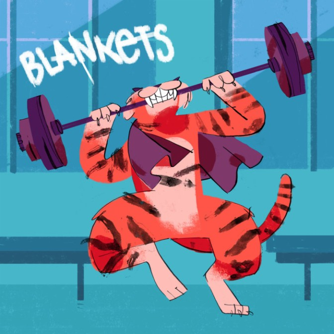 """""""Struggles"""" by Blankets"""