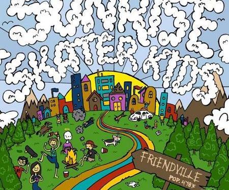 """""""Friendville"""" by Sunrise Skater Kids"""