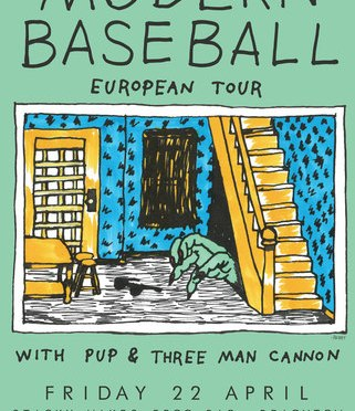 Modern Baseball @ Sticky Mike's Frog, Brighton 22/04/16
