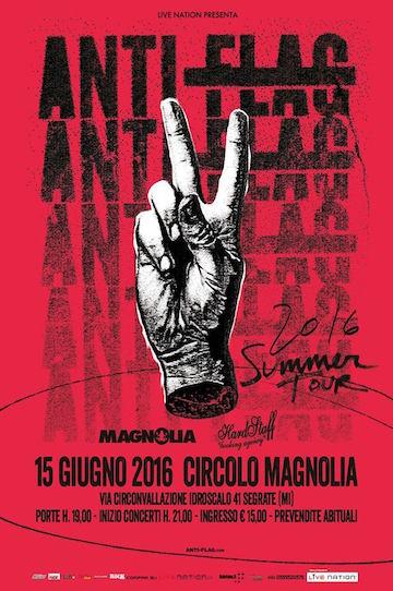 Anti-Flag + Low Dérive + I Like Allie @ Circolo Magnolia