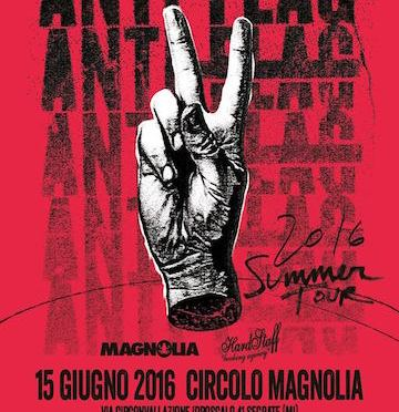 Anti-Flag + Low Dérive + I Like Allie @ Circolo Magnolia