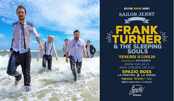 Frank Turner & The Sleeping Souls @ Spazio BOSS, La Spezia
