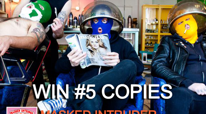 "GIVEAWAY: Masked Intruder – ""Love and Other Crimes"""