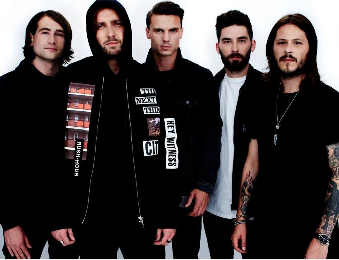You Me at Six in Italia