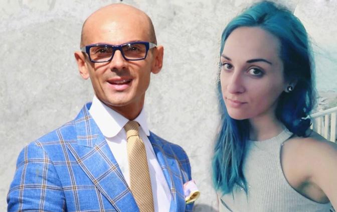 La ragazza dai capelli blu che ha zittito Enzo Miccio