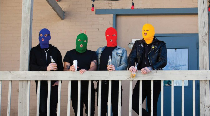 Masked Intruder in Italia!