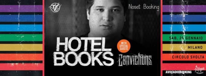 Sittingthesummerout + Hotel Books + guest @ Circolo Svolta, Rozzano 21-01-17