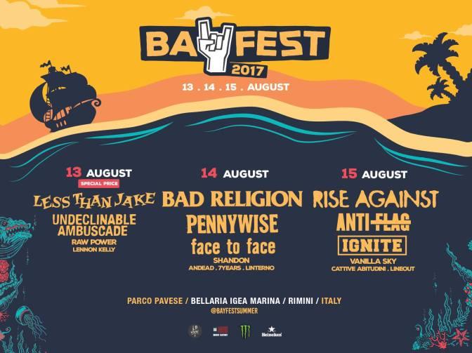 Bay Fest 2017: ecco il programma dell'evento
