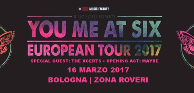 You Me At Six @ Zona Roveri, Bologna 16-03-17