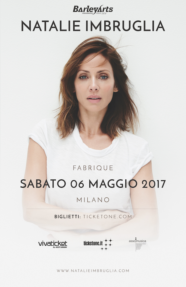 90's nostalgia: Natalie Imbruglia live @ Fabrique, Milano, 06-05-2017