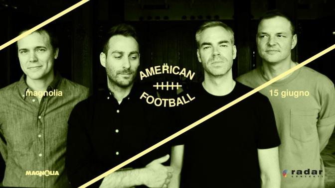 American Football @ Circolo Magnolia 15-06-2017