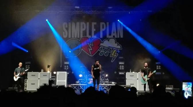 """Mamma guarda ho 10 anni!"" – Simple Plan @ Gran Teatro Geox, Padova 14-06-17"