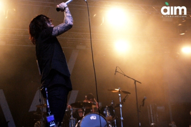 kellin quinn sleeping with sirens milano in fest