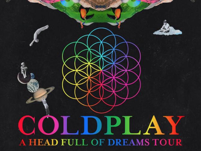 Coldplay @ San Siro, Milano 04-07-17