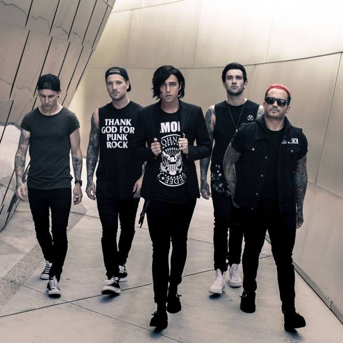 Sleeping with Sirens in Italia
