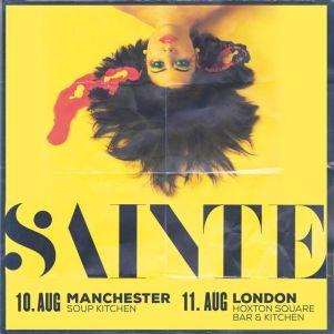 Sainte uk tour