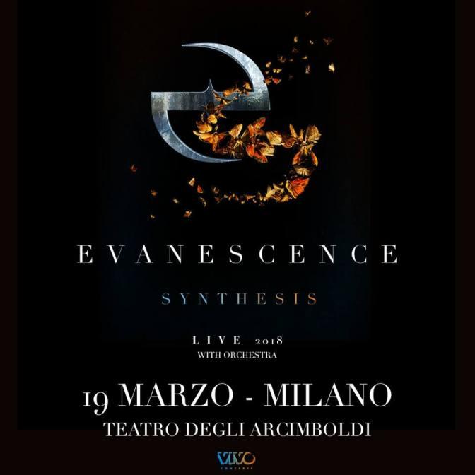 Evanescence in Italia!