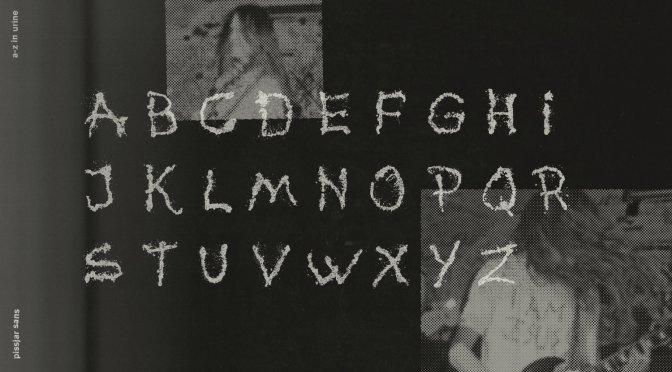 I Pissjar hanno creato un font urinando sulle lenzuola