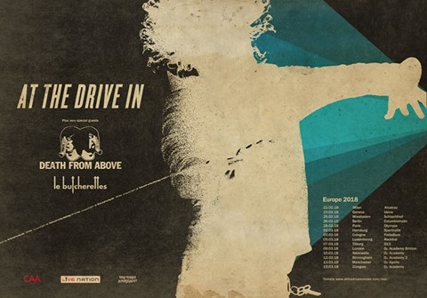 At The Drive In in Italia!