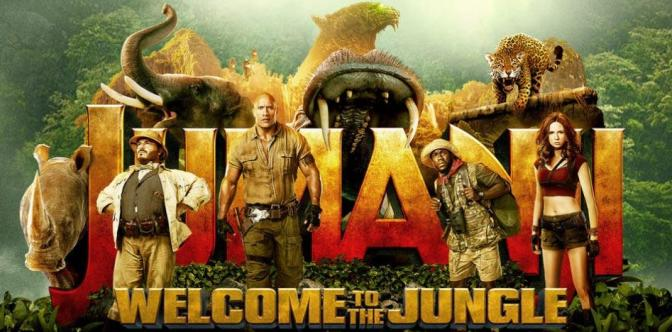 Nick Jonas e The Rock nel trailer di Jumanji