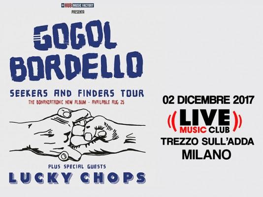 Gogol Bordello in Italia (di nuovo)