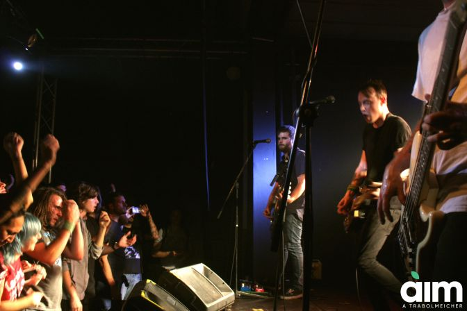 The Flatliners + Prawn + Not Scientists @ Honky Tonky, Seregno 05-10-17