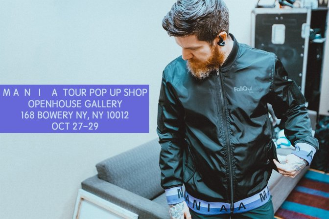 I Fall Out Boy aprono un pop-up shop
