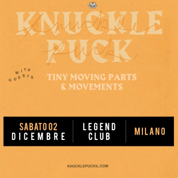 Knuckle Puck: annullato il tour europeo