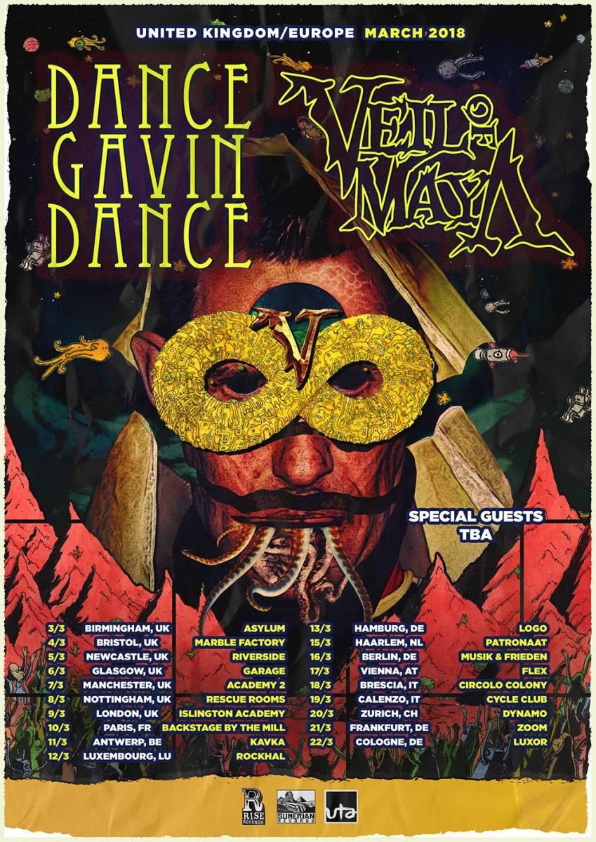Dance Gavin Dance in Italia!
